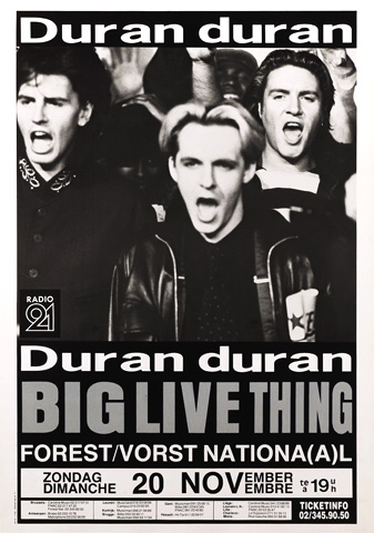 Poster Brussels 20.11.1988